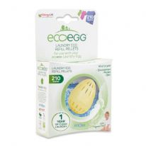 Ecoegg Laundry Egg Refills 210 Washes - Fragrance Free